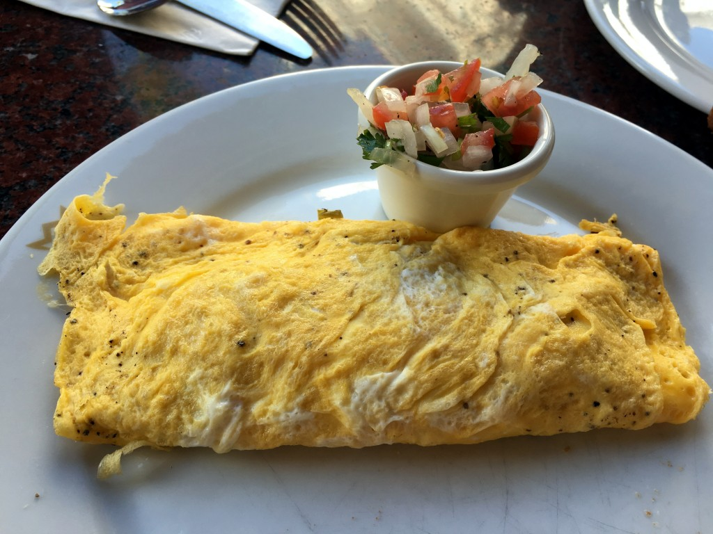 Custom Omelette by Areli at the Buffet at the RIU Palace Riviera Maya