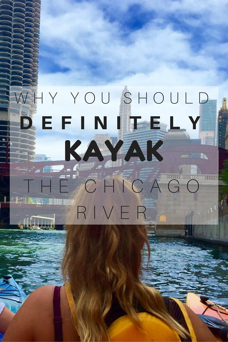 Kayak the Chicago River