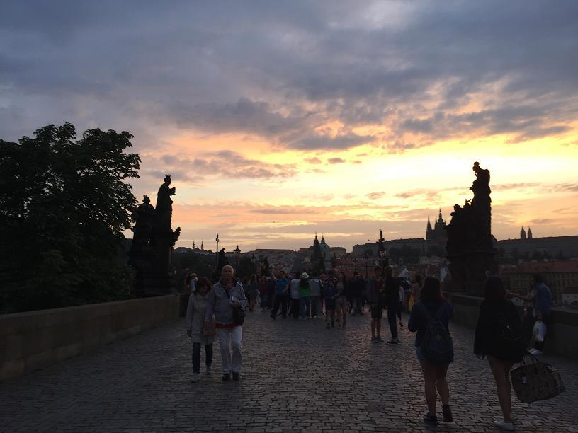 Charles Bridge Sunset